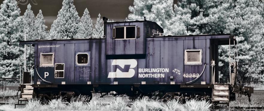 Burlington Northern Caboose