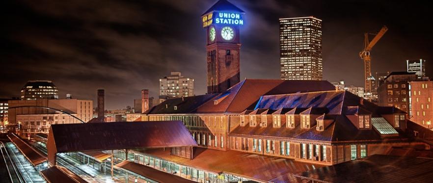 Portland Union Station HDR